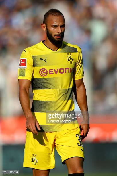 Oemer Toprak of Dortmund is seen during the preseason friendly match between VfL Bochum and Borussia Dortmund at Vonovia Ruhrstadion on July 22 2017...