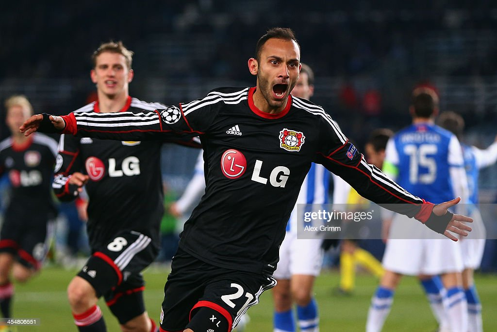 Real Sociedad de Futbol v Bayer Leverkusen - UEFA Champions League
