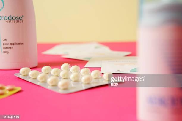 Oesclim Transdermal Patch Containing EstradiolOestrodose Gel For Dermal Application Containing Estradiol Andprogesterone In Capsules Progestative