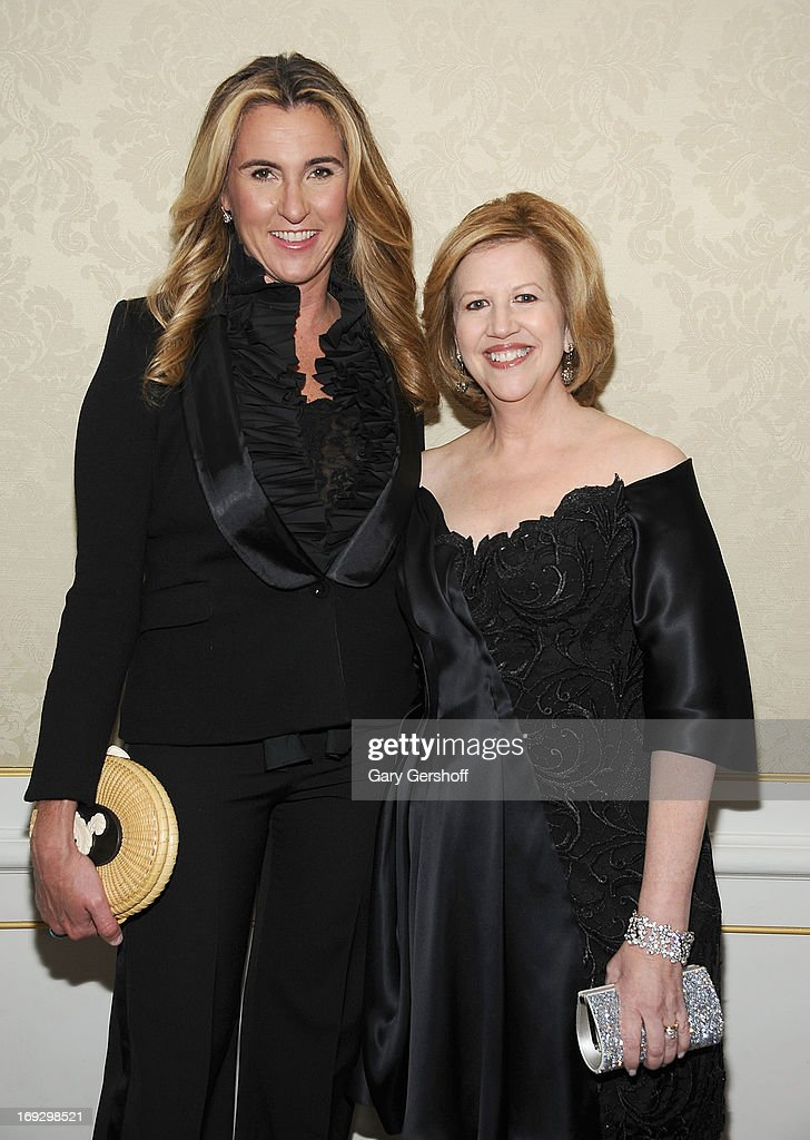 CEO of AE Nancy Dubuc and Chairman of AE Abbe Raven attend the 2013 Museum Of The Moving Image Honors Awards at The St Regis New York on May 22 2013...