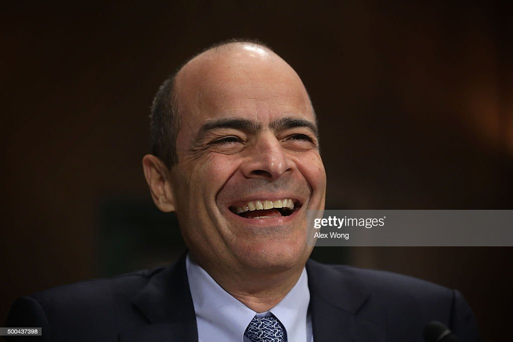 CEO of Anheuser-Busch InBev <a gi-track='captionPersonalityLinkClicked' href=/galleries/search?phrase=Carlos+Brito&family=editorial&specificpeople=5398616 ng-click='$event.stopPropagation()'>Carlos Brito</a> testifies during a hearing before the Antitrust, Competition Policy and Consumer Rights Subcommittee of Senate Judiciary Committee December 8, 2015 on Capitol Hill in Washington, DC. The subcommittee held a hearing on 'Ensuring Competition Remains on Tap: The AB InBev/SABMiller merger and the State of Competition in the Beer Industry.'