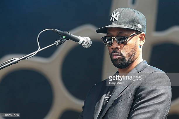 RZA of Banks and Steelz performs in concert during the Austin City Limits Music Festival at Zilker Park on October 7 2016 in Austin Texas