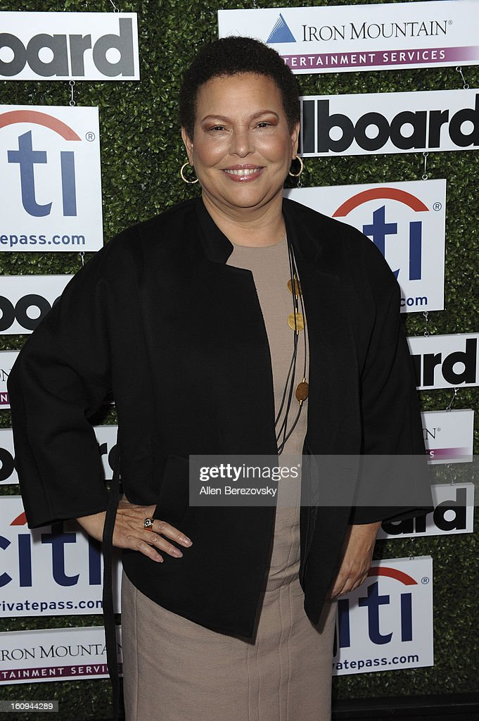 CEO of BET <a gi-track='captionPersonalityLinkClicked' href=/galleries/search?phrase=Debra+L.+Lee&family=editorial&specificpeople=555541 ng-click='$event.stopPropagation()'>Debra L. Lee</a> attends the 1st Annual Billboard Power 100 Event honoring Clive Davis at The Redbury Hotel on February 7, 2013 in Hollywood, California.
