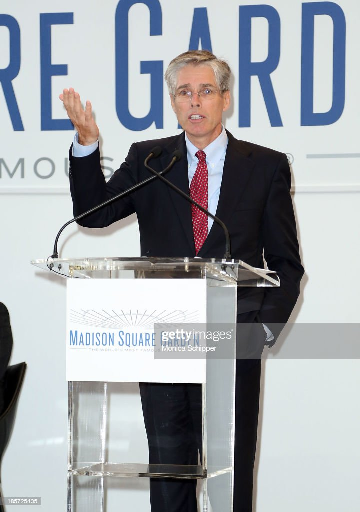 CEO of Chase Consumer and Community Banking, Gordon Smith attends the unveiling of Madison Square Garden on October 24, 2013 in New York City.