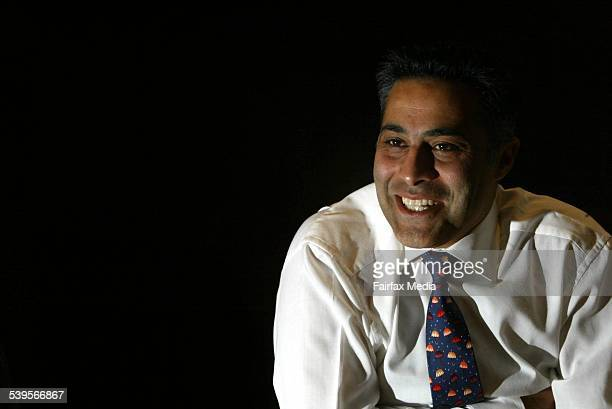 CEO of Citigroup Ahmed Fahour in Melbourne Australia 26 March 2004 AFR Picture by PETER BRAIG