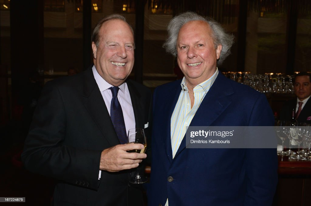 CEO of Conde Nast Chuck Townsend and Editor in Chief of Vanity Fair <a gi-track='captionPersonalityLinkClicked' href=/galleries/search?phrase=Graydon+Carter&family=editorial&specificpeople=605905 ng-click='$event.stopPropagation()'>Graydon Carter</a> attend the Conde Nast Celebrates Editorial Excellence: Toast To Editors, Writers And Contributors on April 22, 2013 in New York City.