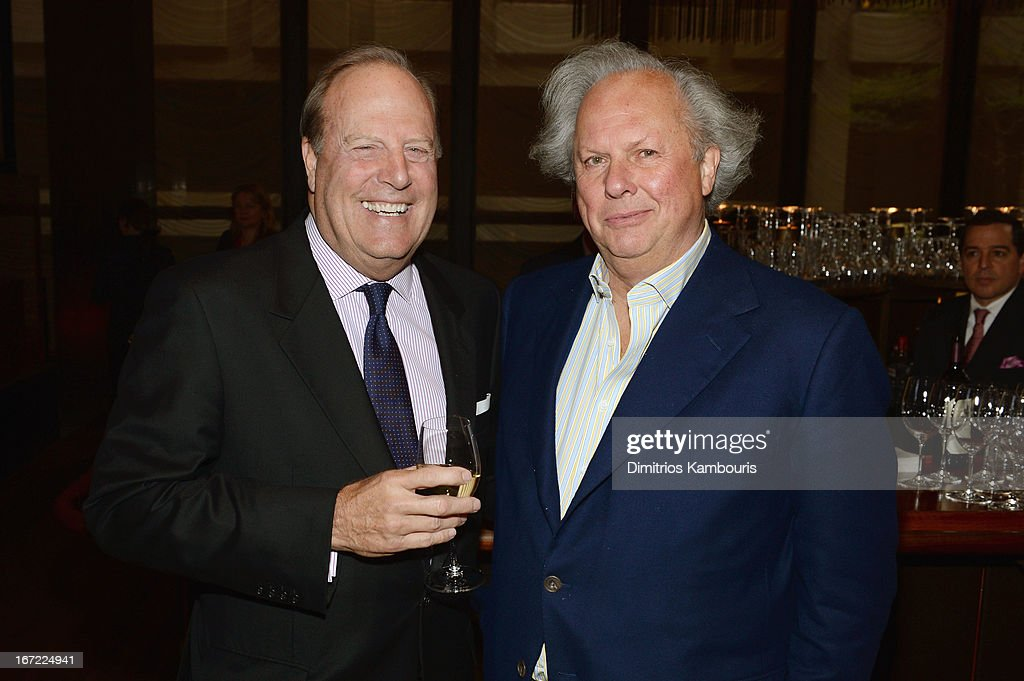 CEO of Conde Nast Chuck Townsend and Editor in Chief of Vanity Fair Graydon Carter attend the Conde Nast Celebrates Editorial Excellence: Toast To Editors, Writers And Contributors on April 22, 2013 in New York City.