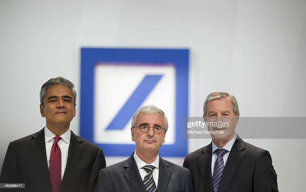 Annual General Meeting Of Deutsche Bank