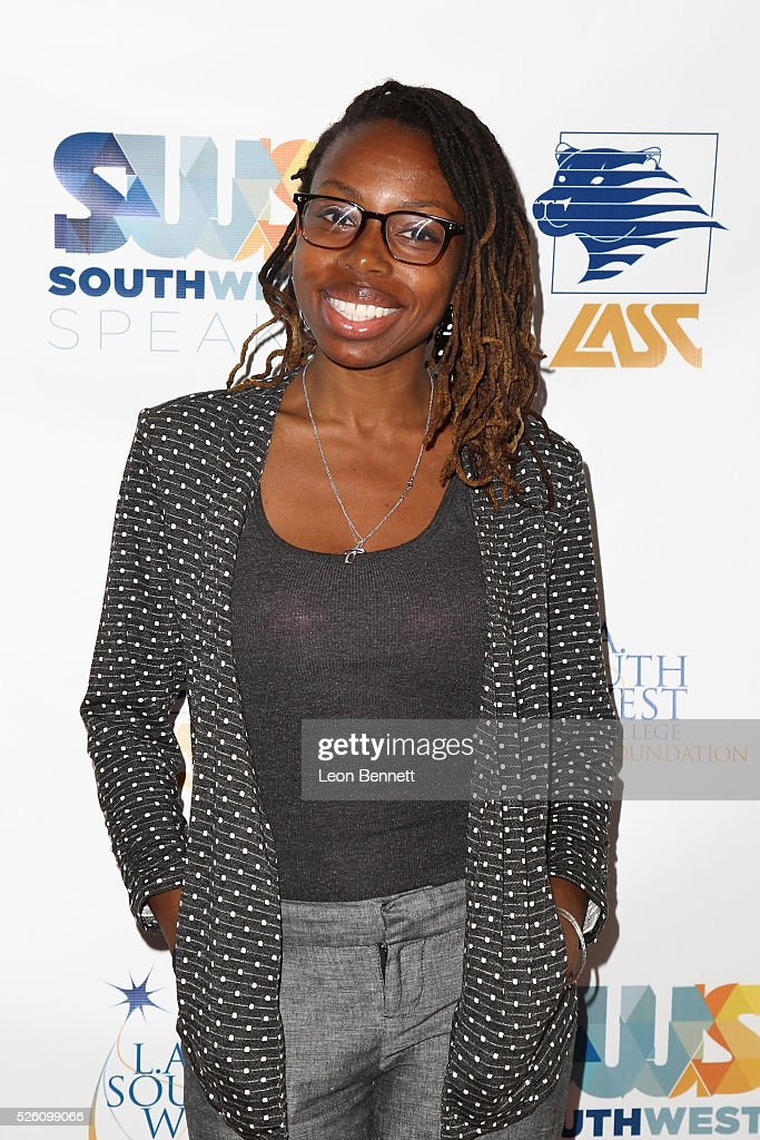 VP of Development, Collins Ave Kamico Drake attends Hollywood Insiders Talk Diversity In Entertainment at L.A. Southwest College Foundation on April 29, 2016 in Los Angeles, California.