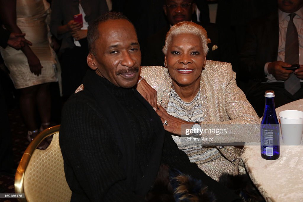 CEO of Double XXposure Public Relations and motivational speaker Angelo Ellerbee and singer and actress Dionne Warwick attend The 16th Annual Wall Street Project 'Access To Captial' Luncheon at The Roosevelt Hotel on January 31, 2013, in New York City.