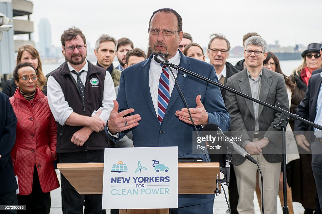 CEO of EarthKind Energy Ron Kamen attends New Yorkers For Clean Power Campaign Launch at Solar 1 on May 2, 2016 in New York City.
