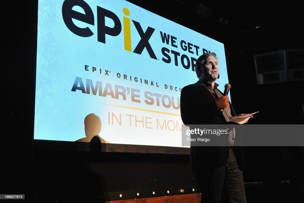 CEO of EPIX Mark Greenberg attends EPIX premiere of Amar'e Stoudemire IN THE MOMENT on April 18, 2013 in New York City.