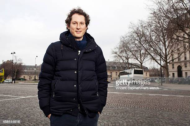 CEO of Fiat Chrysler Automobiles John Elkanni is photographed for Paris Match in Paris on March 11 2012