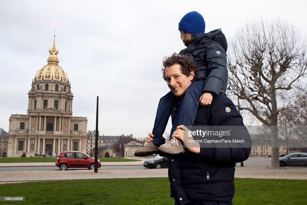 John Elkann, Paris Match, March 11, 2012