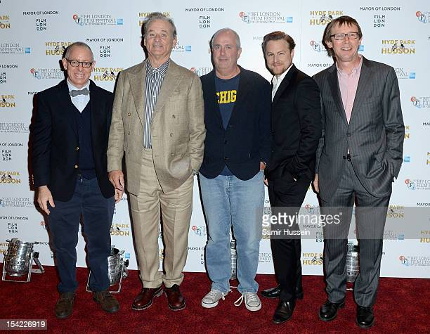 CEO of Focus Features James Schamus actor Bill Murray director Roger Michell actor Samuel West and producer Kevin Loader attend the ''Hyde Park on...