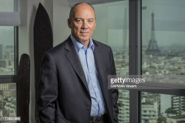 CEO of France Telecom Stephane Richard poses on May 16 2013 in Paris France