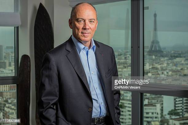 CEO of France Telecom Stephane Richard Portrait Session