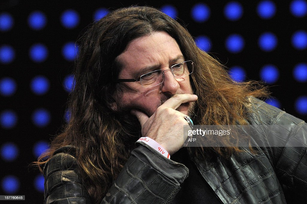 CEO of French ecommerce company vente-privee.com Jacques-Antoine Granjon listens while taking part in a jury for a Start-Up Competition during LeWeb conference in Saint-Denis, near Paris on December 6, 2012. Le Web is Europe's largest tech conference, bringing together the entrepreneurs, leaders and influencers who shape the future of the internet. AFP PHOTO ERIC PIERMONT