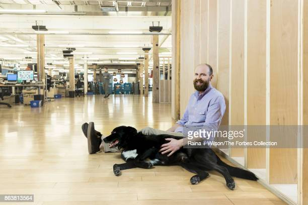 CEO of FreshBooks Mike McDerment is photographed for Forbes Magazine on April 4 2017 in Toronto Ontario CREDIT MUST READ Raina Wilson/The Forbes...