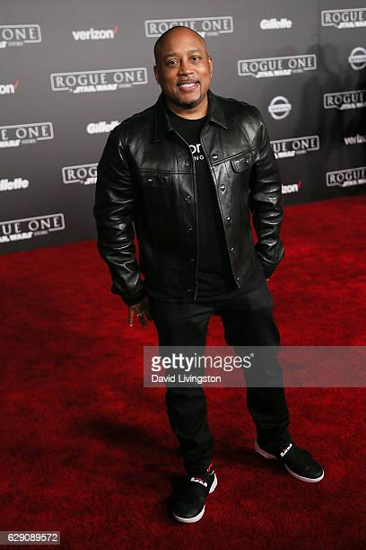 CEO of FUBU Daymond John arrives at the premiere of Walt Disney Pictures and Lucasfilm's 'Rogue One A Star Wars Story' at the Pantages Theatre on...