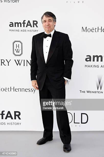 CEO of Getty Images Jonathan Klein attends amfAR's 22nd Cinema Against AIDS Gala Presented By Bold Films And Harry Winston at Hotel du CapEdenRoc on...