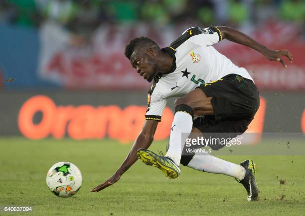 PARTEY of Ghana during the quarter final match between Ghana and DR Congo at Stade Oyem on January 29 2017 in Oyem Gabon