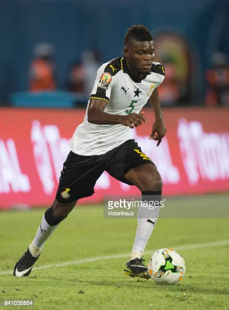 PARTEY of Ghana during the Semi Final match between Cameroon and Ghana at Stade Franceville on February 02 2017 in Franceville Gabon