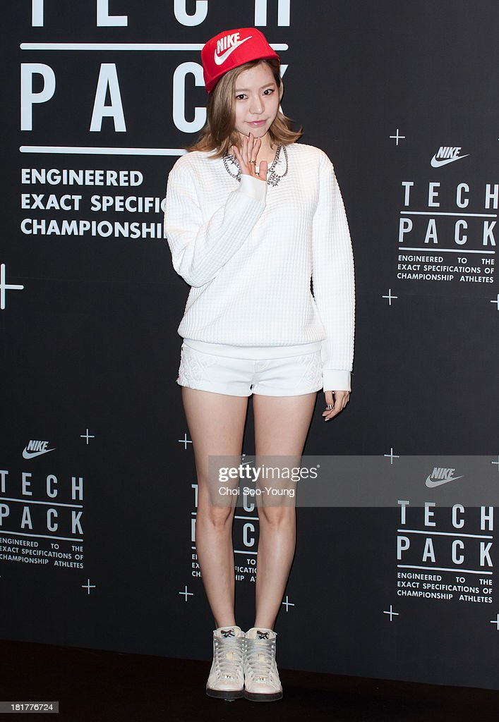 SUNNY of Girls' Generation attends the 'NIKE Tech Pack' showcase at the Shilla hotel on September 24, 2013 in Seoul, South Korea.