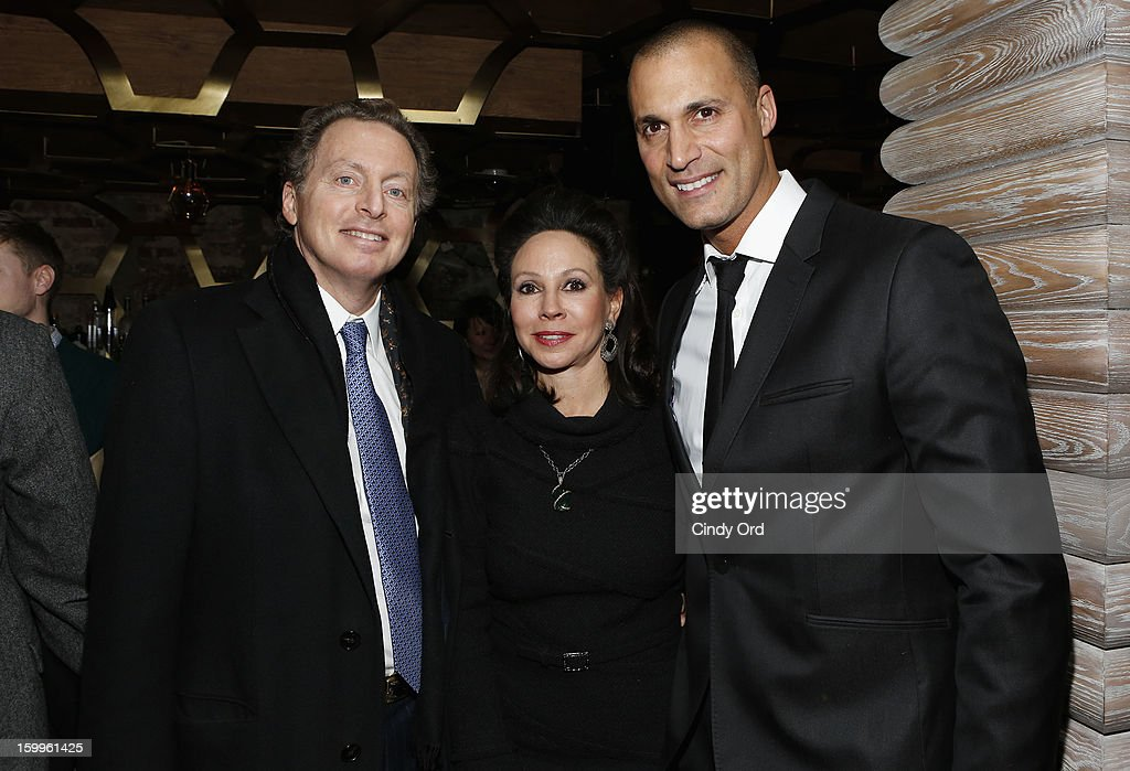 CEO of Hudson Media James Cohen, his wife, and <a gi-track='captionPersonalityLinkClicked' href=/galleries/search?phrase=Nigel+Barker&family=editorial&specificpeople=691819 ng-click='$event.stopPropagation()'>Nigel Barker</a> attend DuJour Magazine Gala With Coco Rocha & <a gi-track='captionPersonalityLinkClicked' href=/galleries/search?phrase=Nigel+Barker&family=editorial&specificpeople=691819 ng-click='$event.stopPropagation()'>Nigel Barker</a> Presented by Invicta at Scott Sartiano and Richie Akiva's The Darbyon January 23, 2013 in New York City.