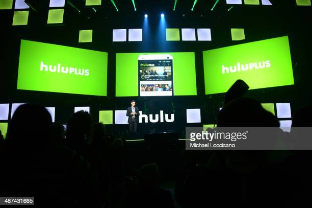 CEO of Hulu Mike Hopkins attends Hulu's Upfront Presentation on April 30 2014 in New York City