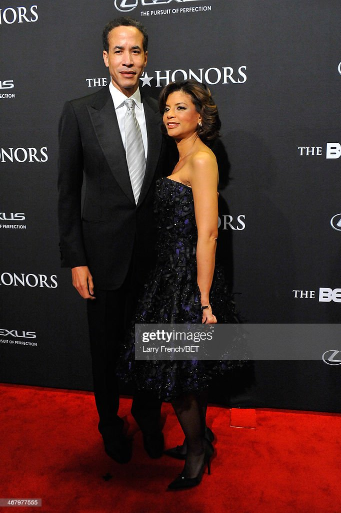 CEO of Infor Charles Phillips and VP of Ad Sales at MTV Karen Phillips attend BET Honors 2014 at Warner Theatre on February 8, 2014 in Washington, DC.