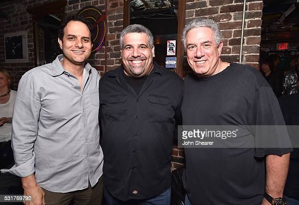 CEO of Interscope Geffen AM Records John Janick Artist and Label Relations for iTunes Music Store Dave Schwartz and CoPresident at Vector Management...
