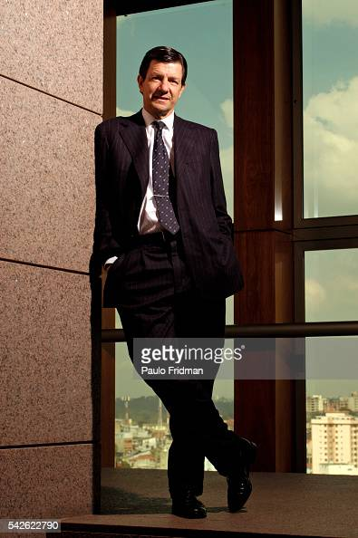 CEO of Itau Bank Roberto Setubal in Sao Paulo