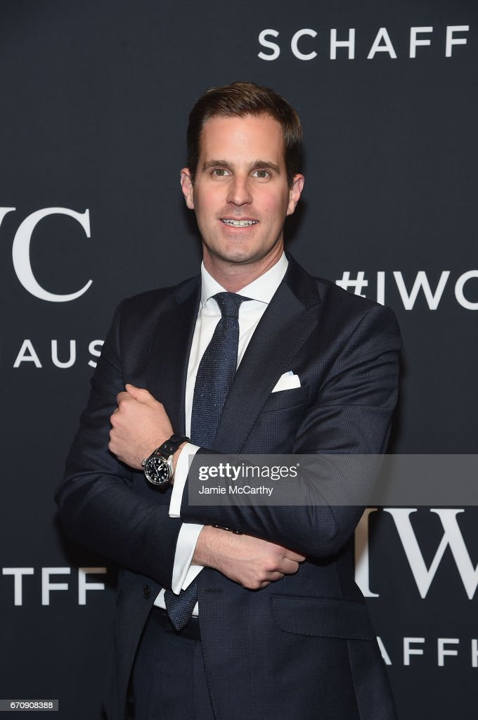 CEO of IWC Schaffhausen Christoph Grainger-Herr attends the exclusive gala event 'For the Love of Cinema' during the Tribeca Film Festival hosted by luxury watch manufacturer IWC Schaffhausen on April 20, 2017 in New York City.