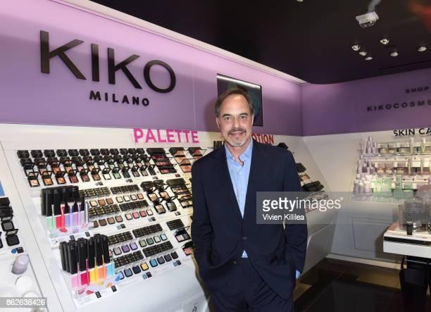 CEO of KIKO Milano Cosmetics Frank Furlan attends Louise Roe For Kiko Milano At Kiko Milano Hollywood Venue on October 14 2017 in Hollywood California
