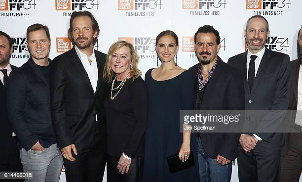 CEO of LD Entertainment Mickey Liddell actor Peter Sarsgaard president of Fox Searchlight Nancy Utley actress Natalie Portman actor Max Casella and...