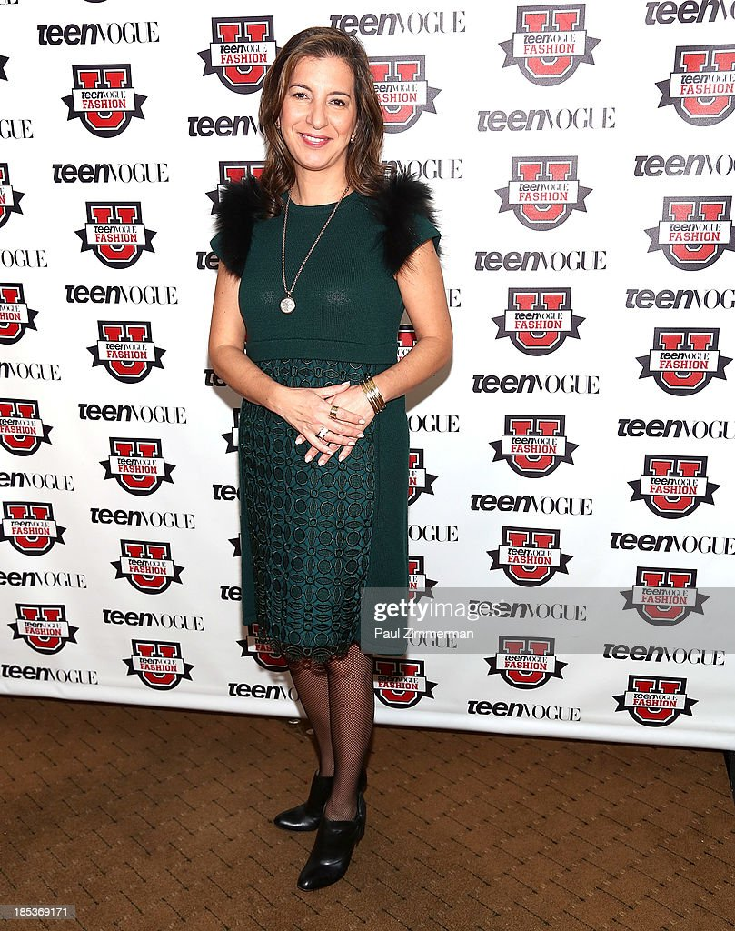 VP of Media & Communications at Bulgari Livia Marotta attends the 8th Annual Teen Vogue University at Conde Naste Building on October 19, 2013 in New York City.
