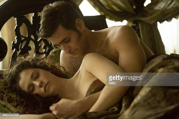 DRACULA 'Of Monsters and Men' Episode 106 Pictured Jessica De Gouw as Mina Murray Oliver JacksonCohen as Jonathan Harker
