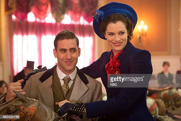 DRACULA 'Of Monsters and Men' Episode 106 Pictured Oliver JacksonCohen as Jonathan Harker Jessica De Gouw as Mina Murray