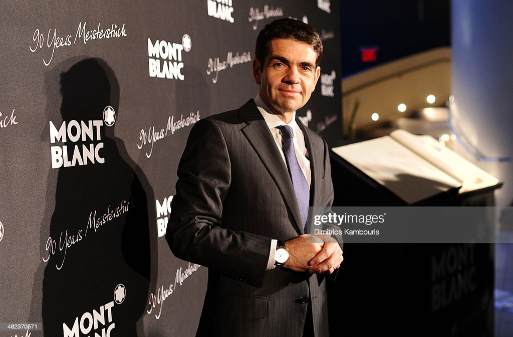CEO of Montblanc International Jerome Lambert attends Montblanc Celebrates 90 Years of the Iconic Meisterstuck on April 3 2014 at Guastavino's in New...