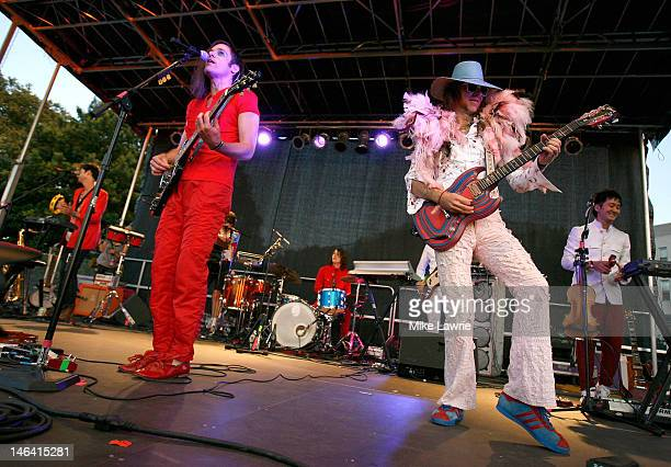 of Montreal performs during Northside Festival 2012 Day 2 on June 15 2012 in the Brooklyn burough of New York City
