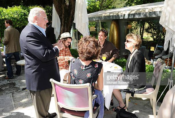 CEO of Morgan Creek Productions James G Robinson speaks to guests at the Morgan Creek International Brunch during the 63rd Annual Cannes Film...