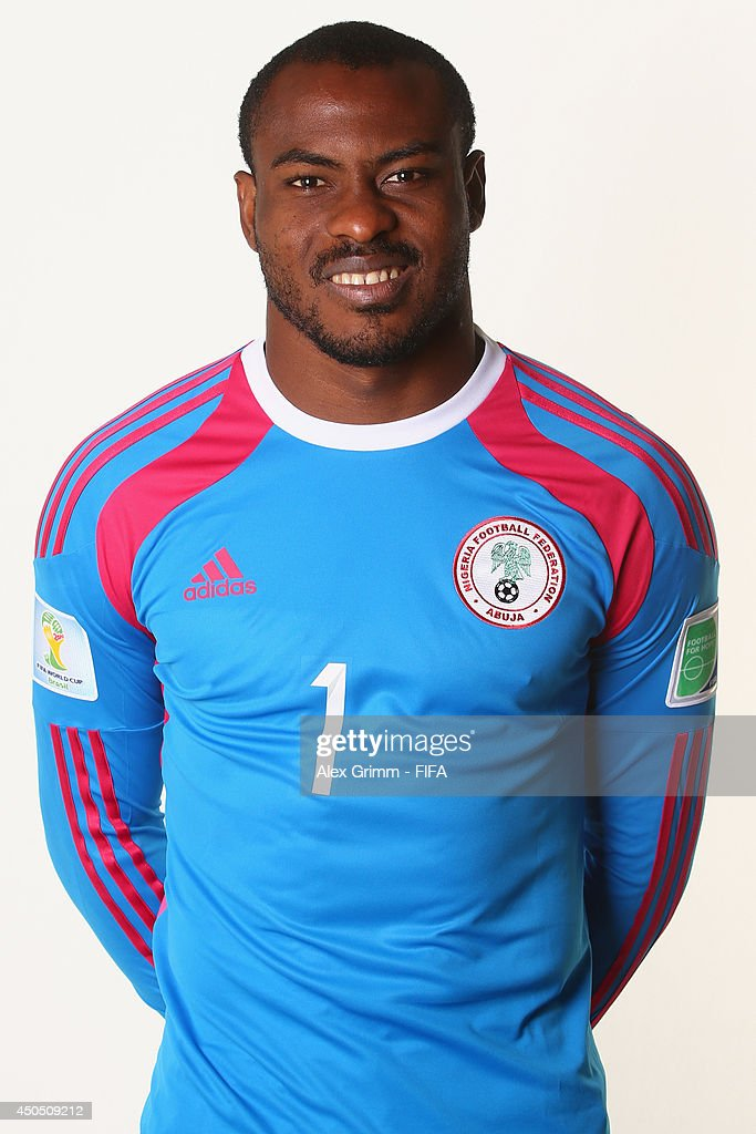 of Nigeria poses during the official FIFA World Cup 2014 portrait session on June 12, 2014 in Campinas, Brazil.