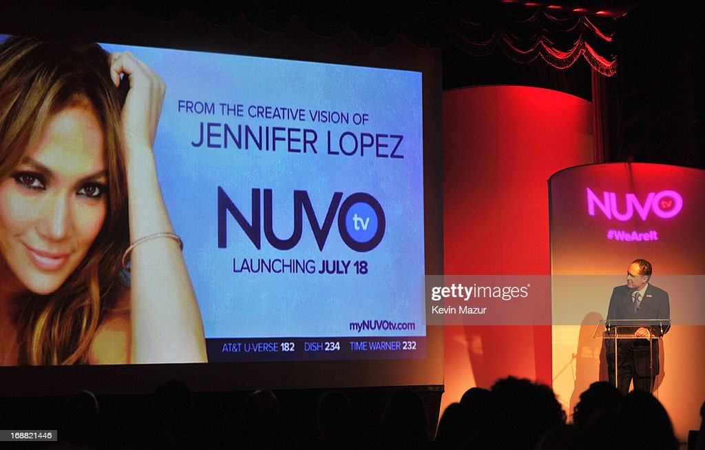 CEO of NUVOtv Michael Schwimmer speaks on stage during the NUVOtv Upfronts at The Edison Ballroom on May 15, 2013 in New York City.