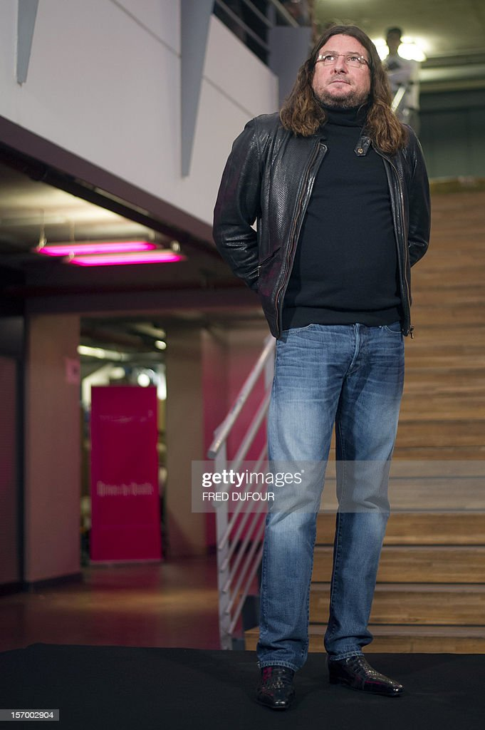 CEO of online vente-privee.com Jacques-Antoine Granjon is pictured during a tour of the company's headquarters in Saint-Denis, north of Paris, on November 27, 2012 ahead of the Christmas and new Year celebrations. The vente-privee.com storage facilities celebrates its 10th anniversary