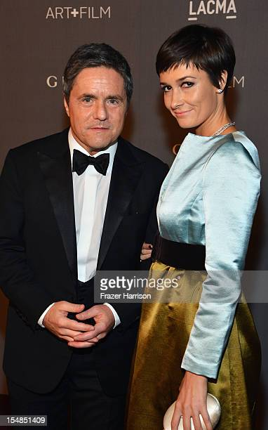 Ceo Of Paramount Pictures Brad Grey And Candra Huysentruyt Arrive At Lacma 2017 Art Film