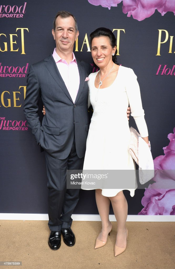 CEO of Piaget <a gi-track='captionPersonalityLinkClicked' href=/galleries/search?phrase=Philippe+Leopold-Metzger&family=editorial&specificpeople=4900497 ng-click='$event.stopPropagation()'>Philippe Leopold-Metzger</a> and Catherine Leopold-Metzger attend the 2014 Film Independent Spirit Awards at Santa Monica Beach on March 1, 2014 in Santa Monica, California.