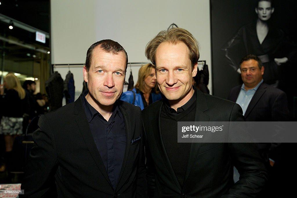 CEO of Porsche Design Group Juergen Gessler and CEO of Porsche Design Group America Karstan Von Engeln attend Michigan Avenue Magazine Celebrates The...