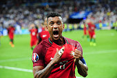 NANI of Portugal during the European Championship Final between Portugal and France at Stade de France on July 10 2016 in Paris France