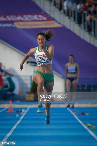 OLIVEIRA of Portugal is seen competing in the womens triple jump during day one of the U23 European Athletics Championships on 13 July 2017